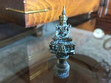 Brass Replica Of Buddha Image Built By King Prasatthong Lamp Finial Topper