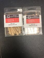 """Lot Of 2 Boxes (30 Pcs)Dowel Pins Spiral Groove - 3/8"""" x 2"""""""