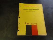 New Holland Wisconsin V460D-V461D Engine Service Parts Catalog Manual