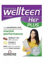 Vitabiotics Wellteen Her Plus - 56 Cognitive & immune Support and Fish Oils