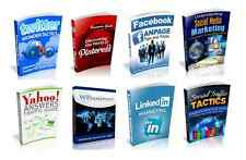 100 Social Media eBooks With Resell Rights  ( Only 10 ¢ per Book )    PDF