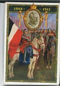 um 1915  Kaiser Wilhelm II, 25jähr. Regierungsjubiläum, ungebraucht-druckfrisch