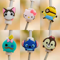 10x phone charging cable cartoon protector case data line protection cover WB