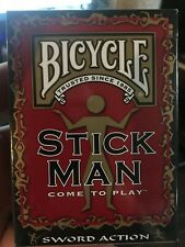 1 Deck BICYCLE Stick Man Playing Cards