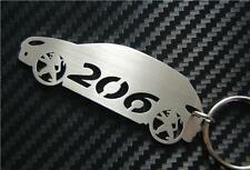 206 VOITURE Porte-clef porte-clés Porte-clé GTI SX SPORT HDi STYLE XS LX