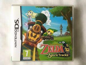 The Legend of Zelda: Spirit Tracks Nintendo DS, (2009) - complete with manual