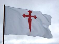 Bandera Cruz de Santiago 150x90cm / Cross of Saint James of Compostela Flag 5x3