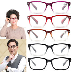 Old Man Reading Glasses Full Frame Resin Lens Spectacles Eyeglass +1.0 ~ +4.0