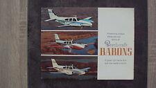 Catalogue Beechcraft BARONS (en anglais)