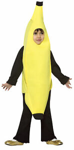 TODDLERS ADORABLE BANANA HEALTHY FRUIT FOOD HALLOWEEN COSTUME 2T-4T GC931