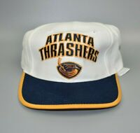 Atlanta Thrashers Twins Enterprise Vintage 90s NHL Snapback Cap Hat - NWT
