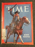 John Wayne - Apollo 11 - 1969 TIME Magazine - Complete Issue
