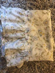 "2 Pair Avail. Vintage Pattern Nursery Curtains Panels 41""x76"" Sheer Drape Yellow"