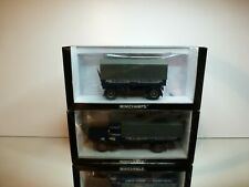 MINICHAMPS BÜSSING 8000S TRUCK + TRAILER DACHSER - BLUE 1:43 - EXCELLENT IN BOX