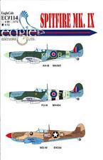 EagleCals Decals 1/32 SUPERMARINE SPITFIRE Mk.IX Fighter Part 1