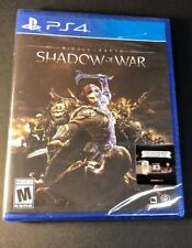 Middle-Earth [ Shadow of War ] (PS4) NEW