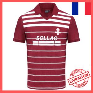 Maillot FC Metz 1984 Vintage football rétro Ligue 1 - Livraison offerte