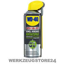 WD40 Specialist Kontaktspray 400 ml Kontaktreiniger Elektronikspray Kriechöl