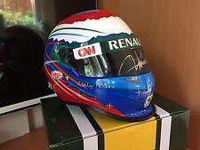 Vitaly Petrov Caterham 2012 Helm Helmet Signed Signiert Autogramm 1:2 **TOP**