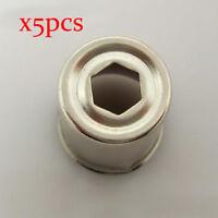 5 teile/los mikrowelle ersatzteile Ersatz magnetron cap Stahl Kappe Magnetron