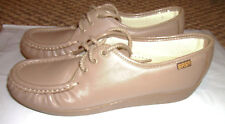 Womens SAS sz 7S Slim Leather Tripad comfort oxford shoes USA MADE, Siesta Mocha