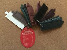 Vintage DINESOL Vinyl Shutter Color Samples Youngstown, Ohio