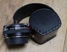 Skylite 2X Teleconverter w/Case for Minolta Bayonet Mount 35mm Film Camera  Mb
