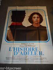 THE STORY OF ADELE H. - ORIGINAL HUGE FRENCH POSTER - ADJANI/TRUFFAUT - 1975
