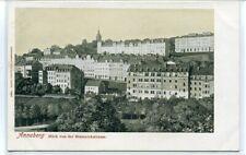 Annaberg Buchholz Panorama Saxony Germany 1905c postcard