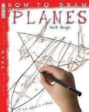"""""""AS NEW"""" How to Draw Planes: 1, Mark Bergin, Book"""