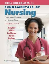 Skill Checklists for Fundamentals of Nursing : The Art and Science of Nursing