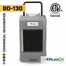 BlueDri® BD-130P 225PPD High Performance Industrial Commercial Dehumidifier Grey