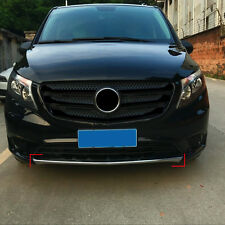 Front Bumper Bottom Grill Grille Cover Molding For Mercedes Benz Vito 2014-2017