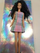Vintage Becky Barbie. Reroot. 1970s. Mattel.Pre-owned. DRESSED.See description
