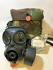 More details for british army s10 respirator, gas mask with dpm haversack, spare filter & booklet