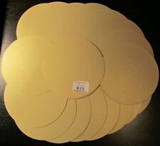 "The Paper Company 20-set Gold Circle Cards 6"" Cardstock, Scrapbooking, New"