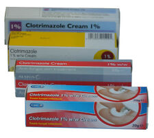 6x Clotrimazole 1% Cream 20g -Canesten- Thrush/Nappy Rash/Ringworm/Athletes Foot