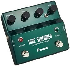 Ibanez TS808DX Tube Screamer +Booster New Free Shipping  w/Track Made in Japan