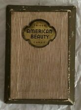"Vintage ""American Beauty"" Bridge Playing Cards (in original protective case)"