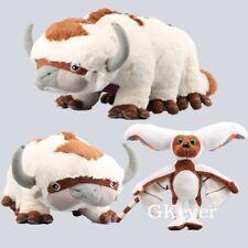"The Last Airbender Resource Appa Avatar Plush Toys & 12"" Momo Stuffed Doll 2pcs"