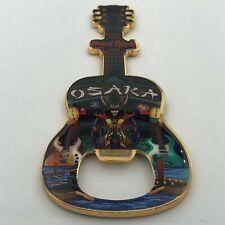 Hard Rock Cafe OSAKA 🇯🇵 - Guitar Bottle Opener Magnet