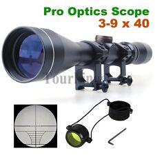 Pro 3-9x40 Optics Lens Tactical Rifle Scopes Sniper Scope Reviews Sight Hunting
