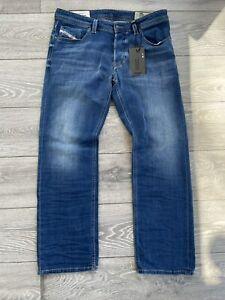 New Diesel Larkee W34 L30 - Regular Straight Mens Jeans