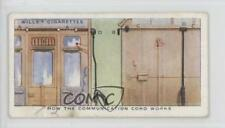 1938 Wills Railway Equipment #25 How The Communication Cord Works Card 1md