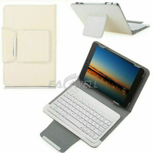 For Amazon Fire HD 10 5/7/9th Tablets Wireless Keyboard Leather Stand Case Cover