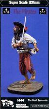 Verlinden 120mm 1:16 Pirates the Devil Incarnate Resin Figure Model Kit #1444