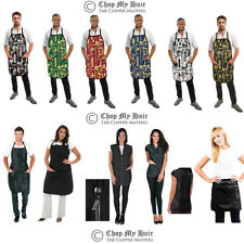 Betty Dain Vintage Barber Apron Man Women Hair Stylist Vest Cover Up Smock