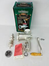 Universal Gourmet Food Chopper Meat Grinder Model No. 323