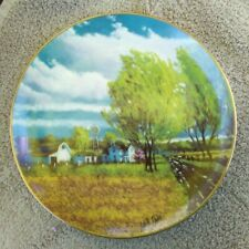 Spring Wind by Lowell Davis Collector Plate - The Danbury Mint Limited Edition