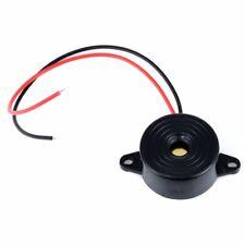 2pcs 3-24V Piezo Electronic Tone Buzzer Alarm Continuous Sound 12V DC 95DB US